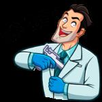 Главный врач: cтикер №15