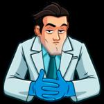 Главный врач: cтикер №21
