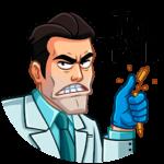 Главный врач: cтикер №25