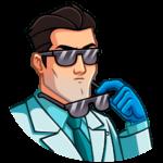 Главный врач: cтикер №28