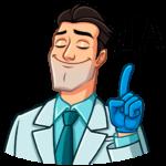 Главный врач: cтикер №31