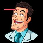Главный врач: cтикер №33