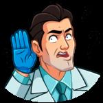 Главный врач: cтикер №37