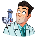 Главный врач: cтикер №40