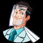 Главный врач: cтикер №46