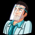 Главный врач: cтикер №48