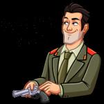 Агент КГБ: cтикер №6