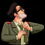 Агент КГБ: cтикер №8