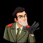 Агент КГБ: cтикер №11