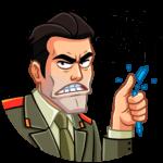 Агент КГБ: cтикер №25