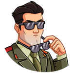 Агент КГБ: cтикер №28