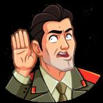 Агент КГБ: cтикер №37