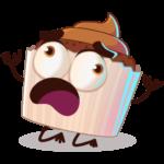 Шоколадная Какетка: cтикер №18