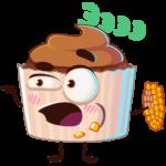 Шоколадная Какетка: cтикер №19