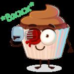 Шоколадная Какетка: cтикер №23