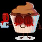 Шоколадная Какетка: cтикер №24