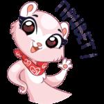 Розовая Нура: cтикер №2