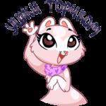 Розовая Нура: cтикер №20