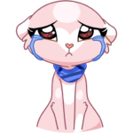 Розовая Нура: cтикер №32