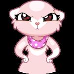 Розовая Нура: cтикер №34