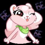 Розовая Нура: cтикер №39
