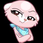 Розовая Нура: cтикер №43