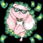 Розовая Нура: cтикер №48