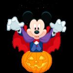 Вампир Микки: cтикер №1