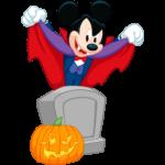 Вампир Микки: cтикер №6