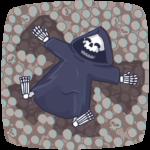 Смерть с косой: cтикер №8