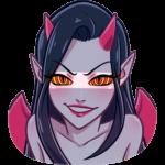 Дьяволица: cтикер №10