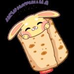 Пончик с AliExpress: cтикер №27