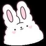 Кролик Супчик белый: cтикер №1