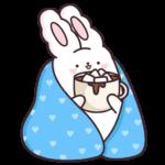Кролик Супчик белый: cтикер №2