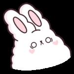 Кролик Супчик белый: cтикер №6