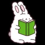 Кролик Супчик белый: cтикер №7