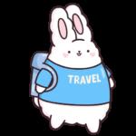 Кролик Супчик белый: cтикер №8