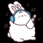 Кролик Супчик белый: cтикер №10