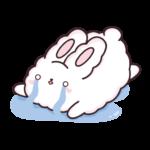 Кролик Супчик белый: cтикер №14