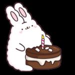 Кролик Супчик белый: cтикер №15