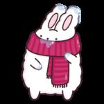 Кролик Супчик белый: cтикер №16