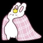 Кролик Супчик белый: cтикер №20
