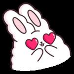 Кролик Супчик белый: cтикер №21