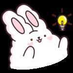 Кролик Супчик белый: cтикер №25