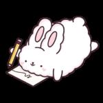 Кролик Супчик белый: cтикер №26