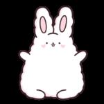 Кролик Супчик белый: cтикер №29