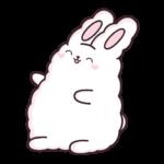 Кролик Супчик белый: cтикер №31