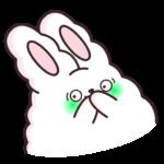 Кролик Супчик белый: cтикер №39