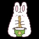 Кролик Супчик белый: cтикер №40
