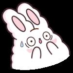 Кролик Супчик белый: cтикер №46